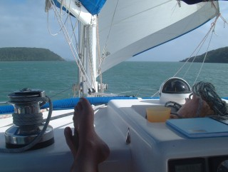 Wing & wing thru the Albany Passage to Cape York