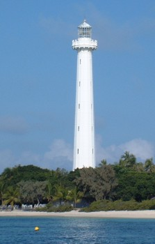 Amedee Lighthouse, built in France then reassembled here