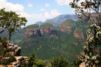 Awesome Blyde River Canyon, near Kruger, South Africa