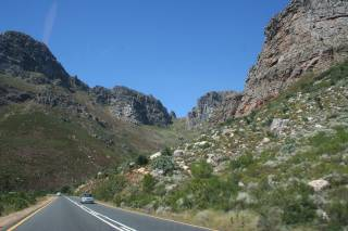 Glorious scenery north of the Cape, South Africa