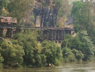 The Death Railway above Kwae Noi River