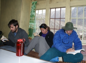 """Chill-laxing"" in our Dzongla guesthouse"