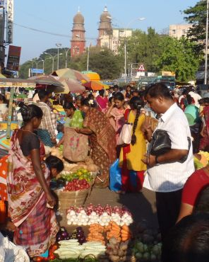 Fruit and veg provisioning in Chennai