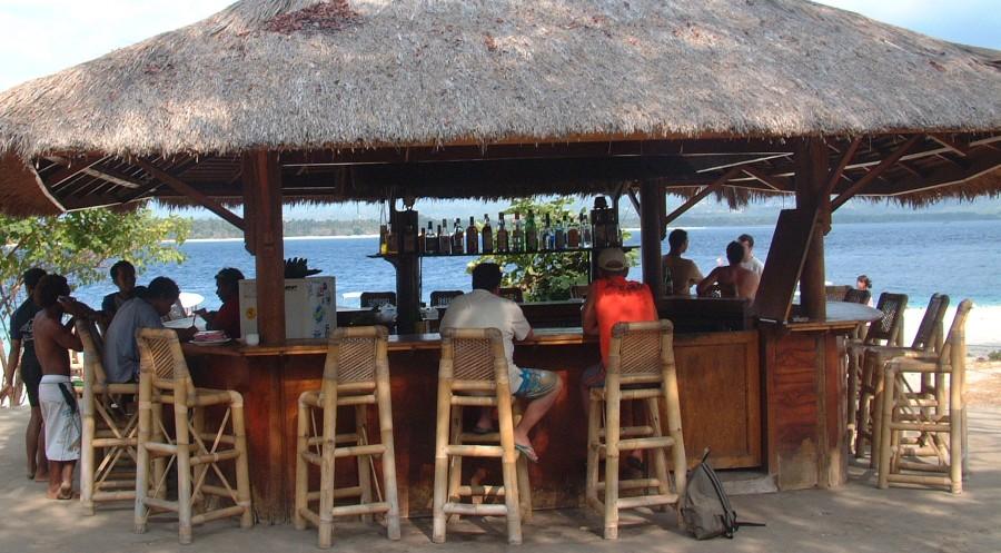 W nusa tenggara for Beach bar design