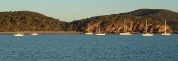 Great Keppel Island anchorage