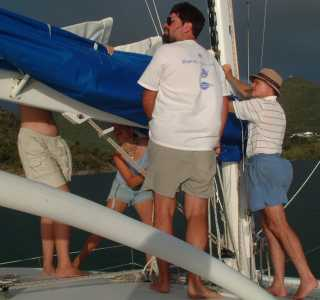 Installing the new Mainsail ... again
