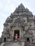 Jon At Prambanan Temple, Java