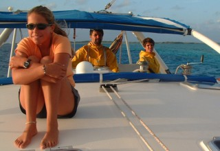 Sailing in Los Roques