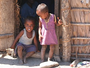 Children of Mitsio village, Madagascar