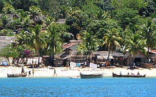 Village on Nosy Komba Madagascar