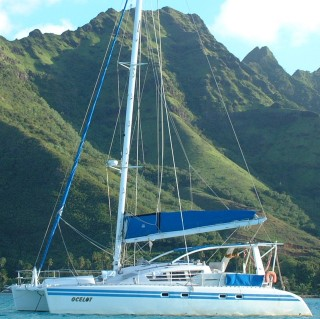 Ocelot anchored in Moorea, French Polynesia