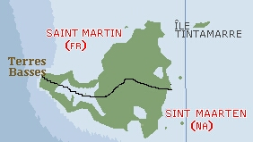 St. Martin is half French and half Dutch