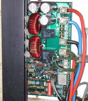 Interior of our Solar Boost 50 Controller
