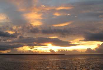 Another beautiful Chagos sunset