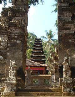Balinese temple entrance