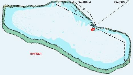 Click on the map for an overall view of the Tuamotus